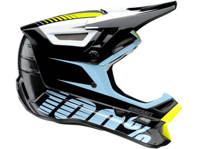 100% Aircraft DH Bike Helmet incl. Mips black/colourful
